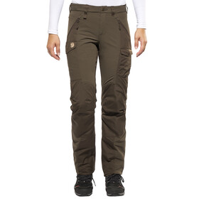Fjällräven Nikka Curved Trousers Women dark olive